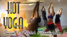 HOT YOGA - Sweat, Stretch, Transform